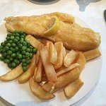 Lovely visit to Trennick Mill. Fish & chips. Fish cakes. Gammon & chips.