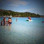 la plage : la piscina