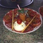 Carpaccio di Bresaola et Burrata la tomate Roma