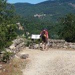 On the path that leads to Largentiere