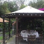 A private gazebo