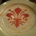 Firenze's symbol hidden at the bottom of my pasta!