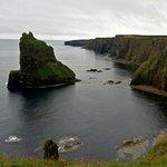 Dunnet Head cliffs. Scotland