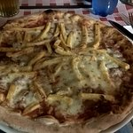 pancetta e patatine fritte