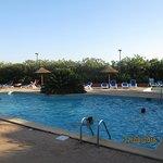 la piscine du site hôtelier