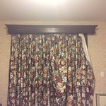 nothing matched curtains looked like this when we entered the room.