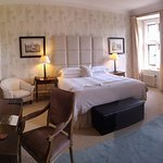 Immaculate room, hugely comfortable bed.