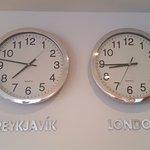 Interesting timekeeping ;)