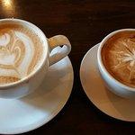 Bar far the best coffee, batista & patio ever!