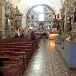 Inside the Church of Our Lady of the Assumption, Chivay