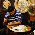 Brass Craftsman, Fes Medina