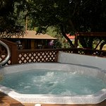 The hot tub.