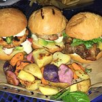 Cheesy Burger & Slider Trio
