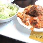 Salad and Pasta, Mama Stortini's, Kent Station, Kent, WA