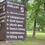 DCL State Park is right across the cove. A 2 minute drive!