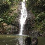 Selfie at Biausevu Waterfalls