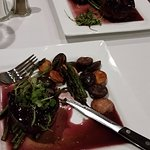 Two filet mignon dinners.