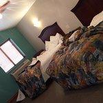 large sleeping area - well lit!!!