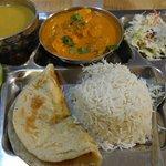 Kukhura Thali  (chicken curry plate)