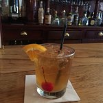 Old Fashioned at historic bar.
