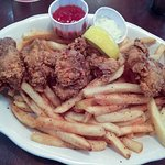 Fried oysters & fries