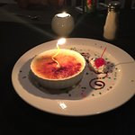 Filet mignon and creme brûlée was amazing! Miguel was our waiter and he was awesome! Love this p