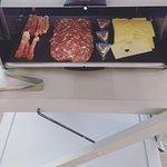 Buffet petit déjeuner côté salé