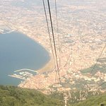 Journey down and view of Castellammare