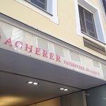 Acherer Patisserie.Blumen Foto