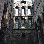 Ruiny wewnątrz