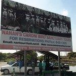 Beginning of tour to bird sancuary.