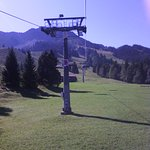 Aussicht von der Iselebahn (Seilbahn )