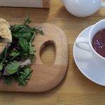 panini emiliano and tea