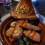 Tajine de poissons, sauce soja
