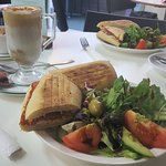 Pannini Calabrese and Coffees