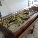 The Cold Buffet counter.