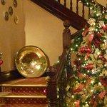 Xmas tree at staircase