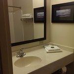 Nice and spacious bathroom with all basic toiletries