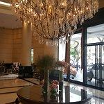 Lobby y vista general de la entrada