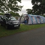 Pitch for 2 tents