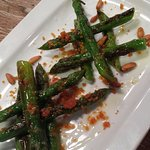 Grilled Green Asparagus at Paco Meralgo