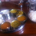 Vishesh Thali (lots of food)... more than enough for 2 persons