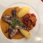 Filets de sardines au basilic, avec une délicieuse ratatouille maison