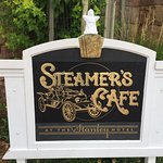 Stanley The Ghost was adopted at the Steamers Cafe, Stanley Hotel, Estes Park.