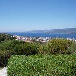 Baie de Propriano vue de notre villa