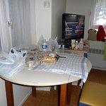 chambre du studio ce n'est pas le luxe des chambres d'hôtel