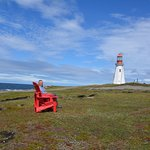 Legendary Red Chairs - Pointe Riche Lighthouse