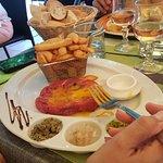 steak tartare frites maison