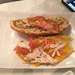 Chicken tomato panino