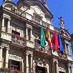 Fachada Ayuntamiento de Pamplona.
